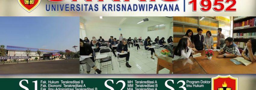 Biaya Kuliah Kelas Karyawan Universitas Krisnadwipayana Tahun 2018-2019