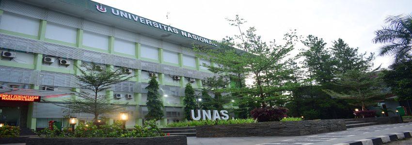 Biaya Kuliah Universitas Nasional (UNAS) Jakarta Tahun 2019/2020