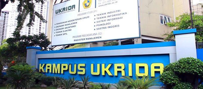 Biaya Kuliah Universitas Kristen Krida Wacana (UKRIDA) Tahun 2020/2021